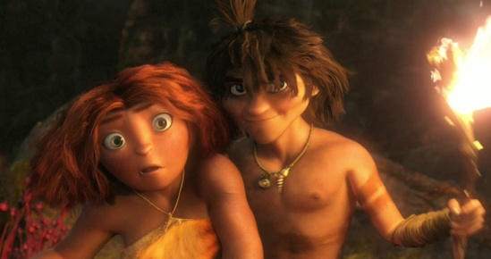 The Croods Eep and Guy
