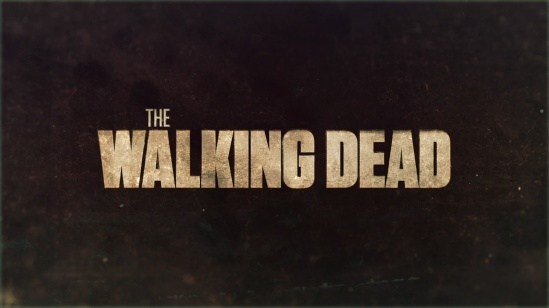 The Walking Dead title card